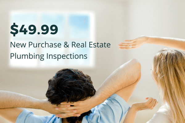 Real estate plumbing inspections