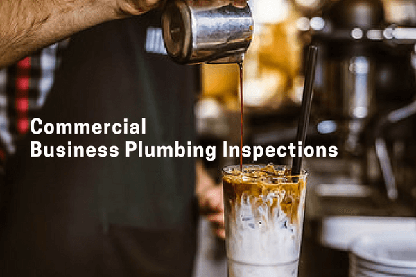 Business and commercial property plumbing inspection