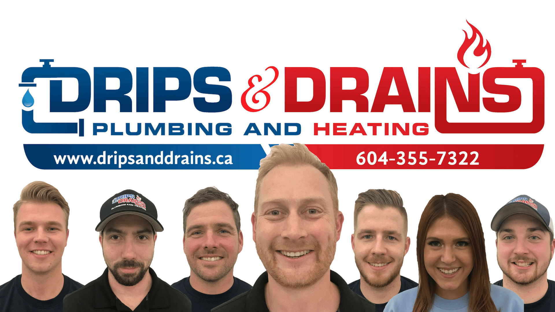 DRIPS & DRAINS TEAM - meet the team